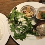 ビストロ熟肉のハンバーグ