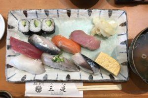 三是寿司の握りずし