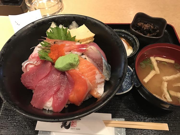 三是の海鮮丼