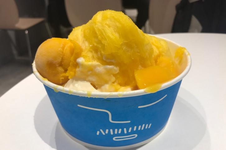 【台湾で人気のカキ氷屋】新宿でランチ後におすすめの『アイスモンスター』