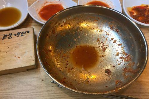 ビビン冷麺完食