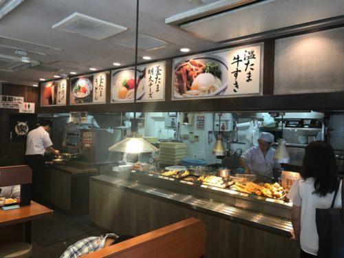 楽釜製麺所調理場