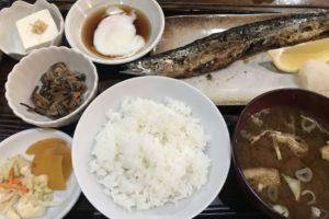 みのやの焼き魚定食
