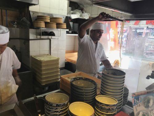 楽釜製麺所内観2