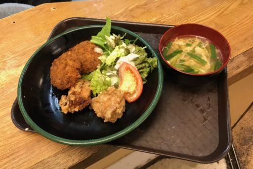 きぬちゃん食堂日替わり定食
