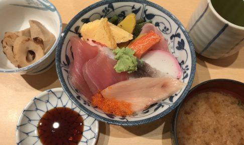 扇寿司の海鮮丼