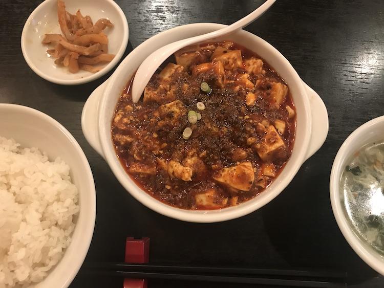 麻辣王豆腐の麻辣王豆腐