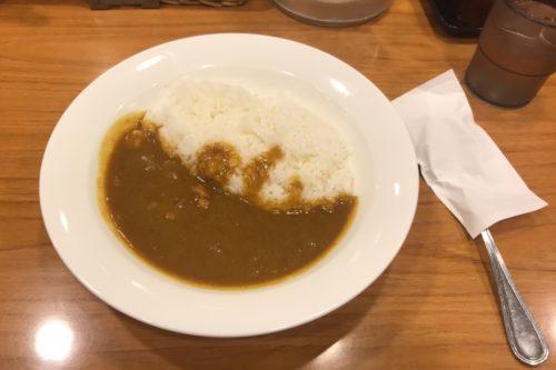新宿カレーポークカレー440円