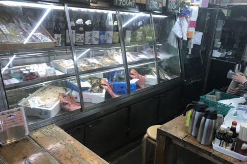 タカマル鮮魚店魚が一杯